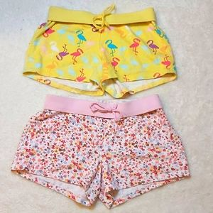 2 pairs of Old Navy girls size 10-12 comfy shorts